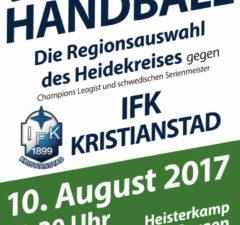 Heidekreisauswahl trifft auf Kristianstad