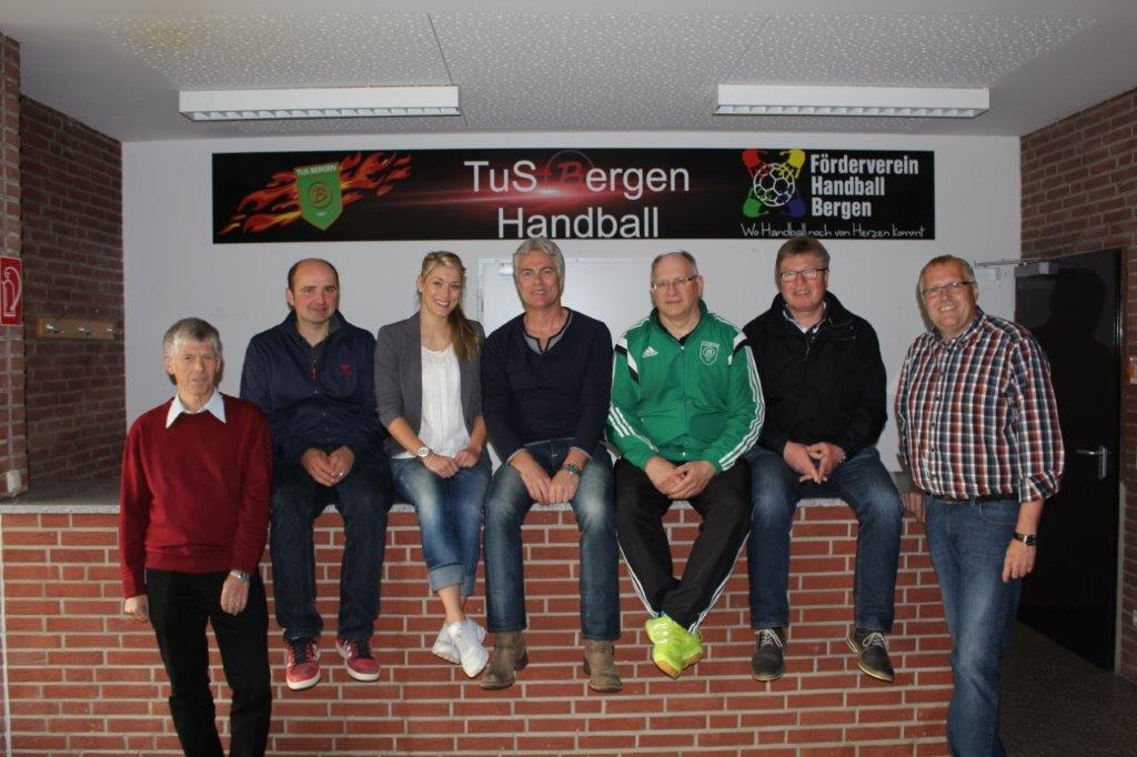Vorstand des Fördervereins TuS Bergen